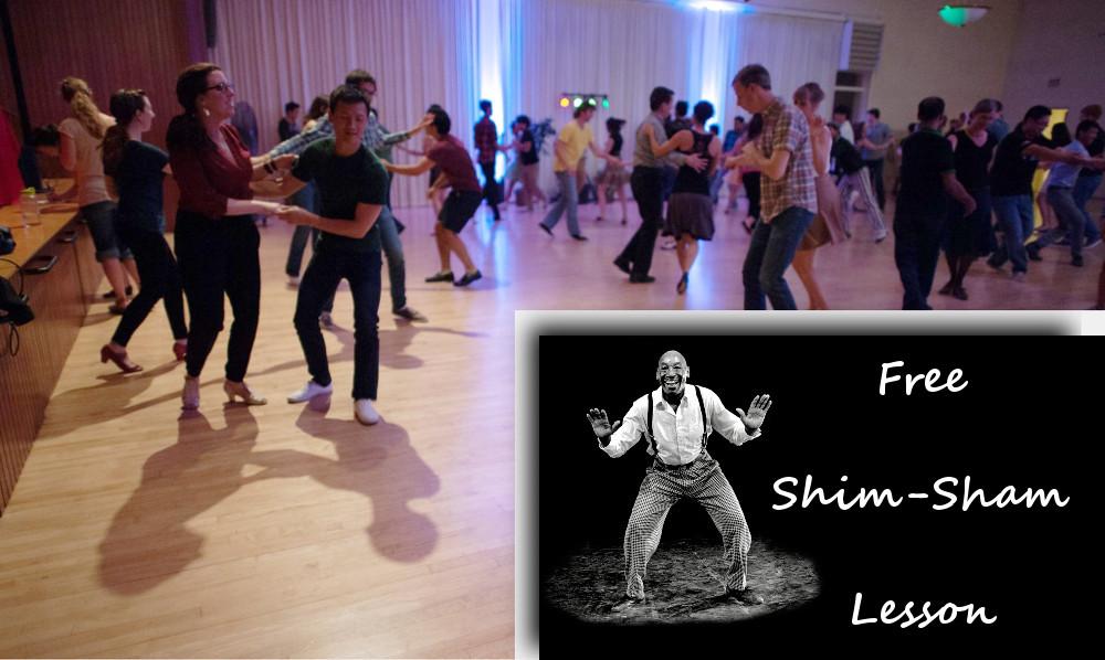 DJ Dance Party, Free Shim-Sham Lesson