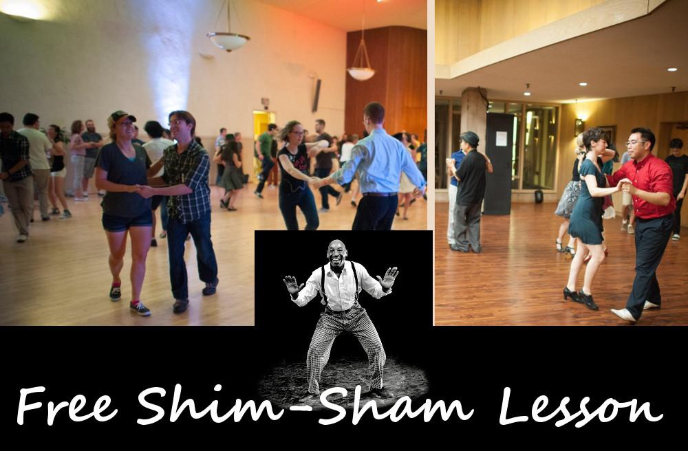 DJ Dance: Main Floor and Balboa Room, Free Shim-Sham Lesson